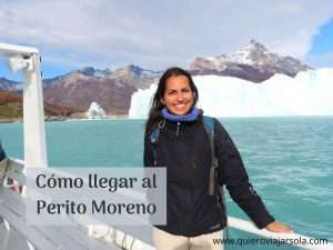 Cómo llegar al Perito Moreno desde El Calafate