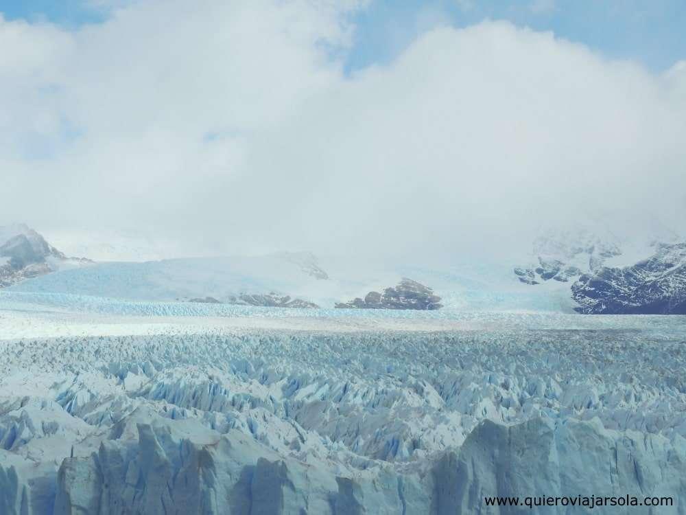Cómo llegar al Perito Moreno, detalle del glaciar