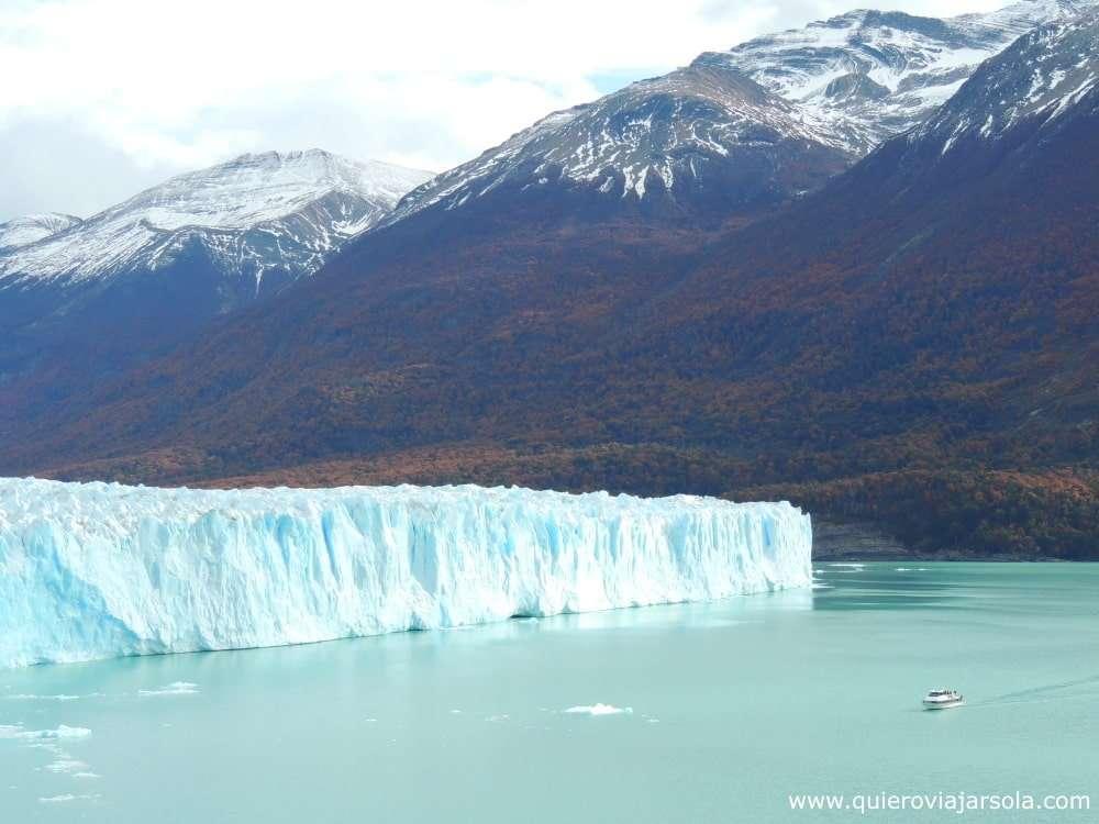 Cómo llegar al Perito Moreno, navegación Lago Argentino