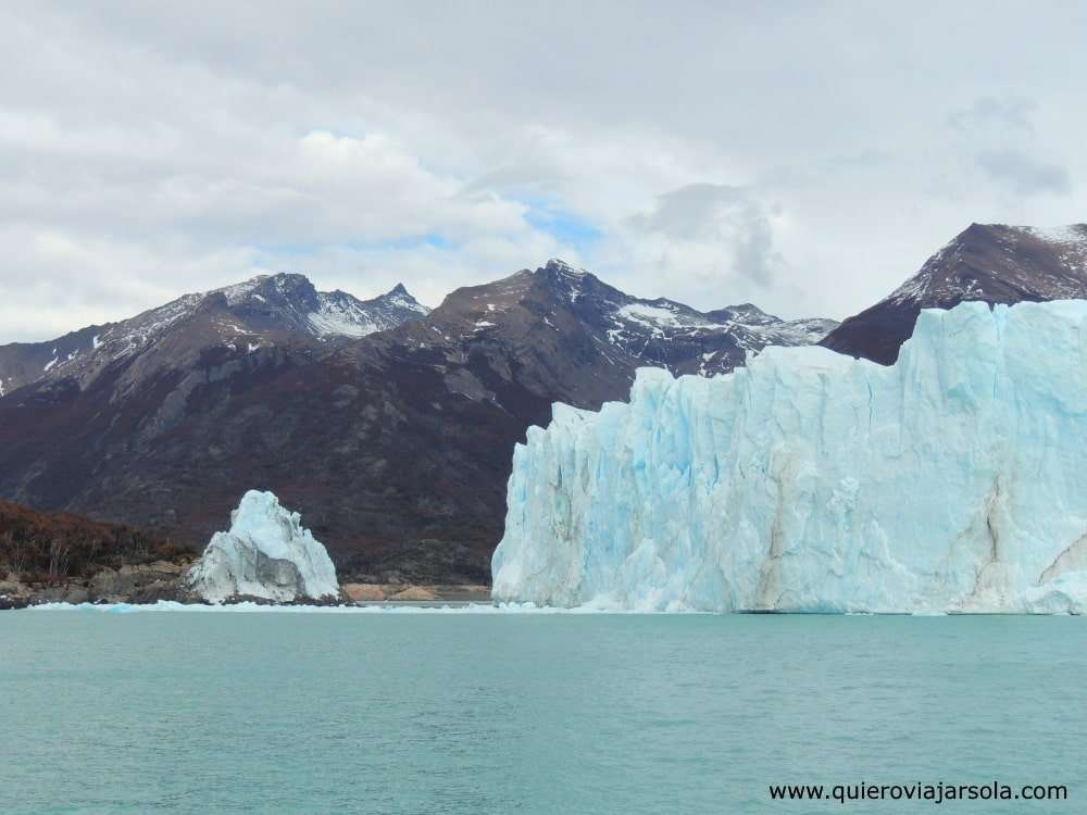 Cómo llegar al Perito Moreno, rotura del glaciar