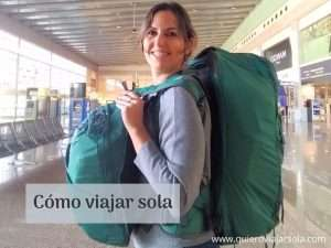 Cómo viajar sola