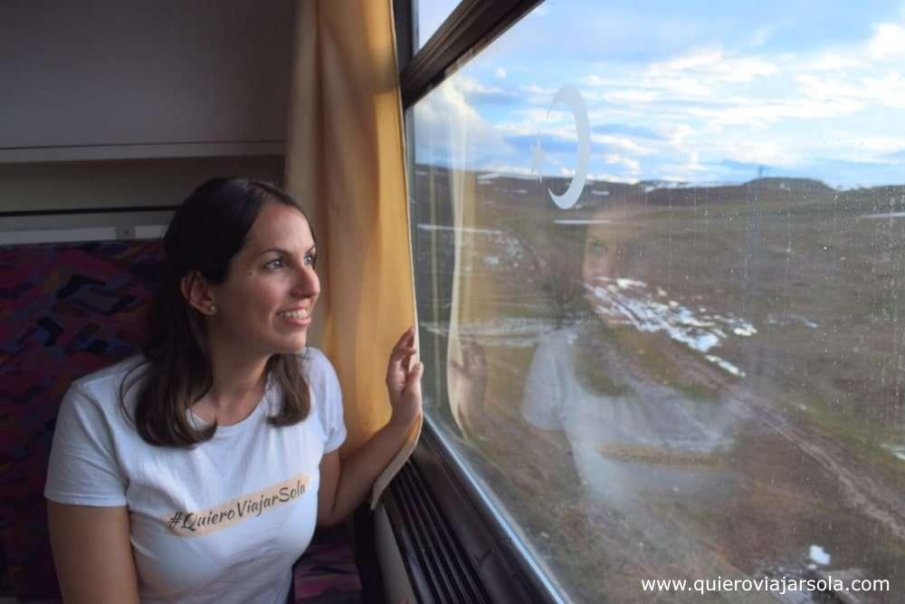 Cómo viajar sola, transporte
