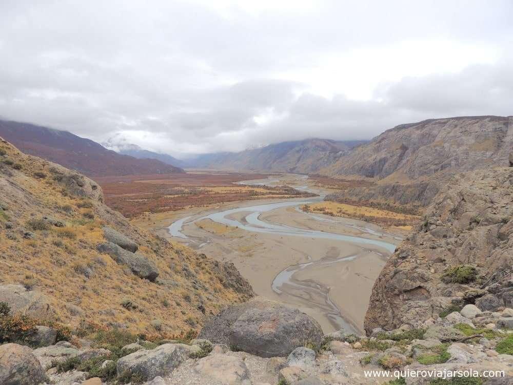 Que hacer en El Chaltén, río de las Vueltas