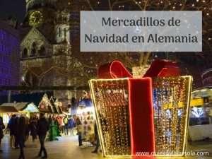 Mercadillos de Navidad en Alemania