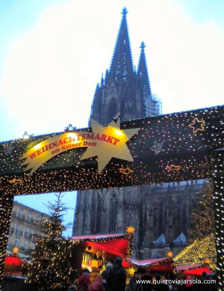 Mercadillo de Navidad en Colonia