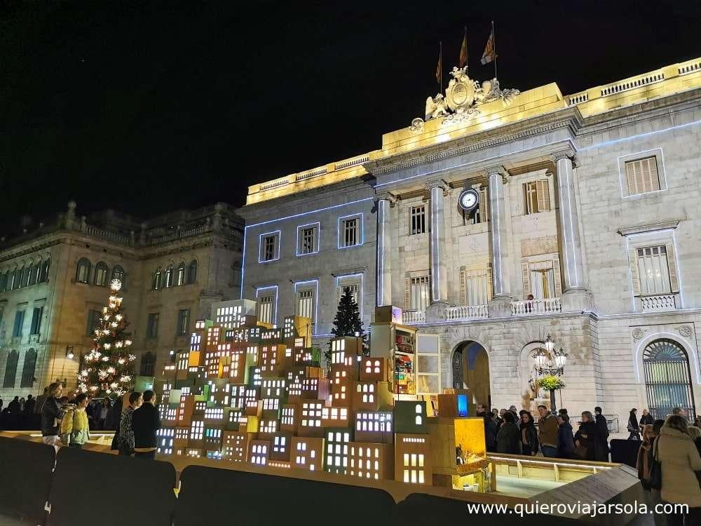 Navidad en Barcelona, Belén