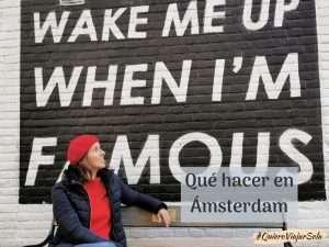 Qué hacer en Ámsterdam