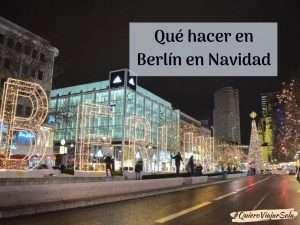 Que hacer en Berlín en Navidad