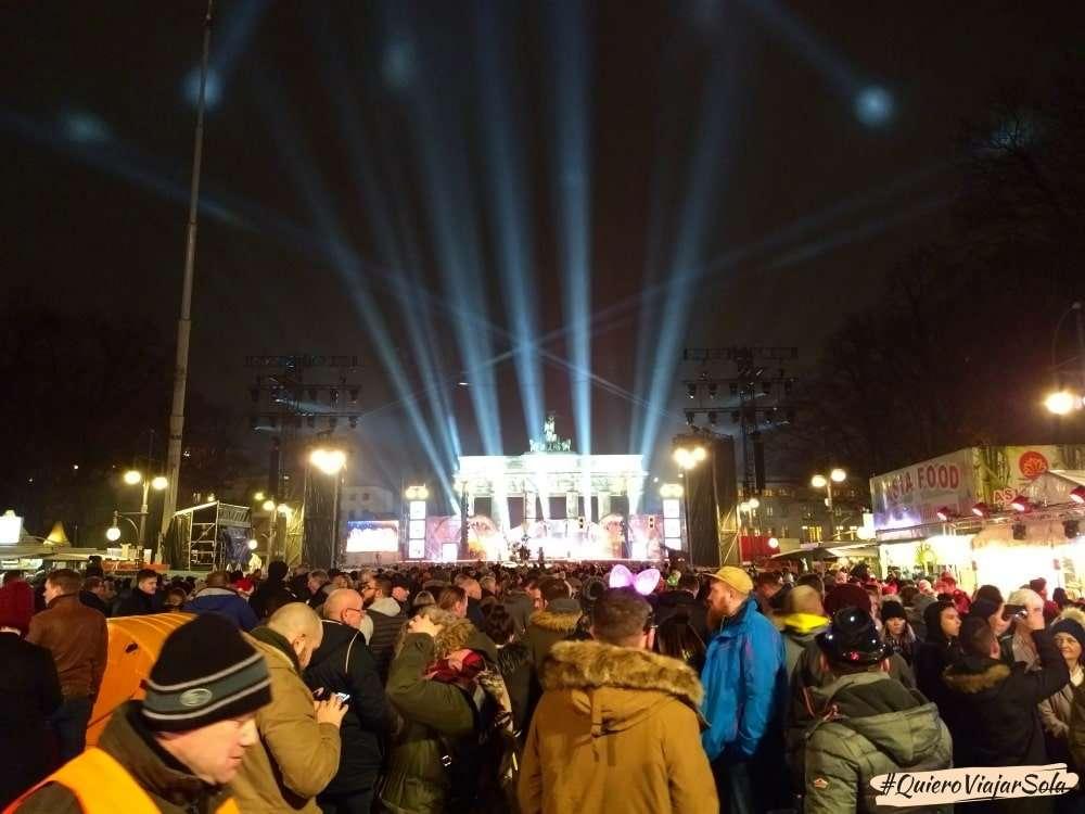 Que hacer en Berlín en Navidad, Puerta de Brandemburgo