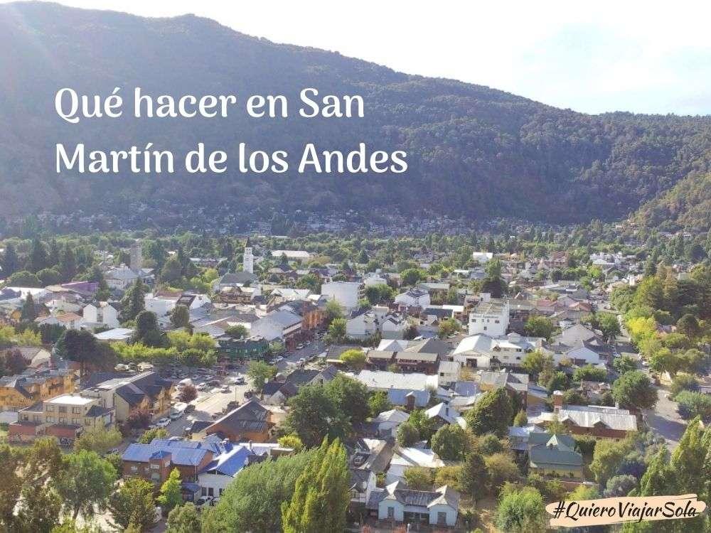 Qué hacer en San Martín de los Andes
