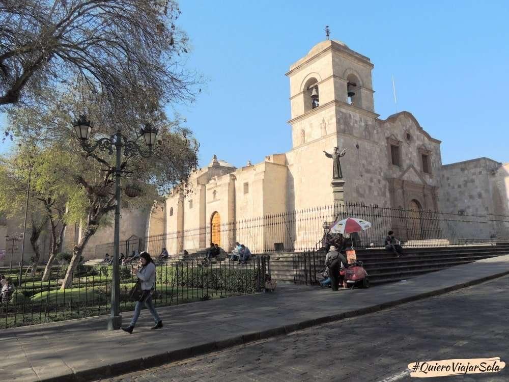 Que ver en Arequipa, Complejo de San Francisco