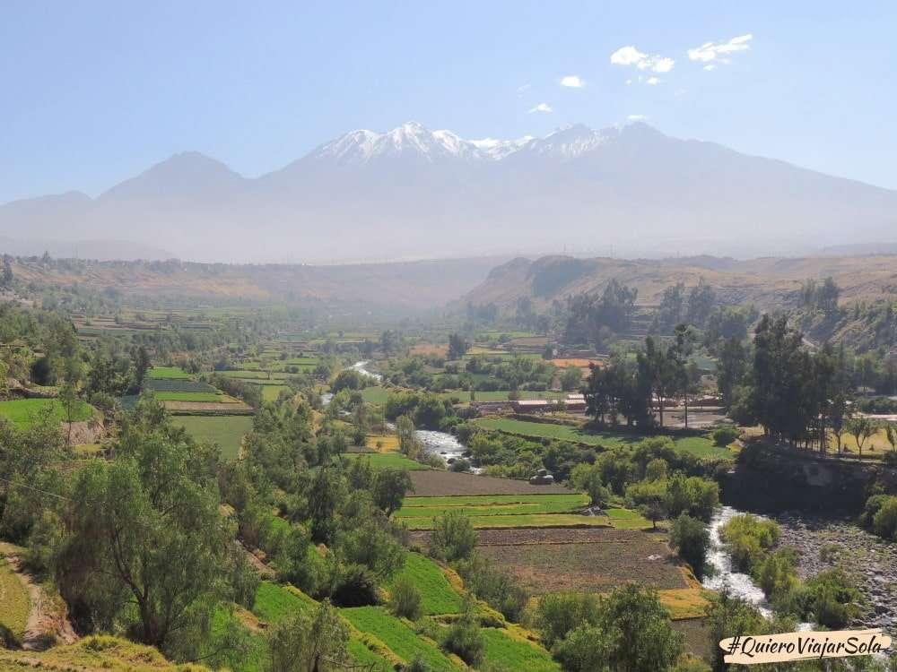 Que ver en Arequipa, mirador de Carmen Alto