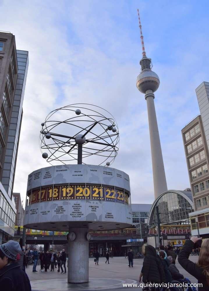 Que ver en Berlín, Alexanderplatz