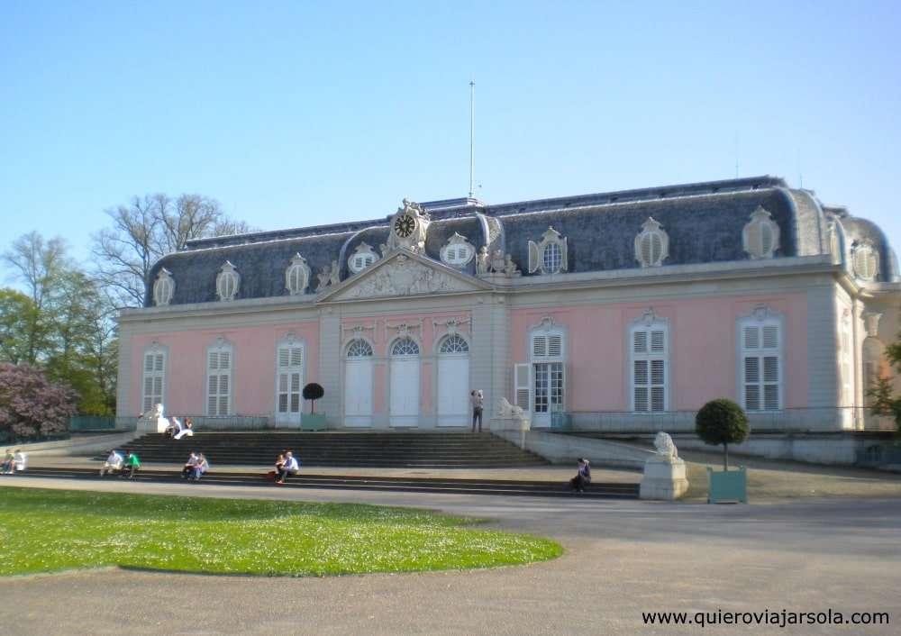 Que ver en Düsseldorf, palacio de Benrath