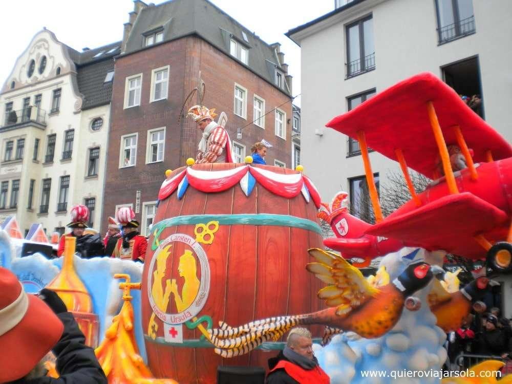 Que ver en Düsseldorf, Carnaval