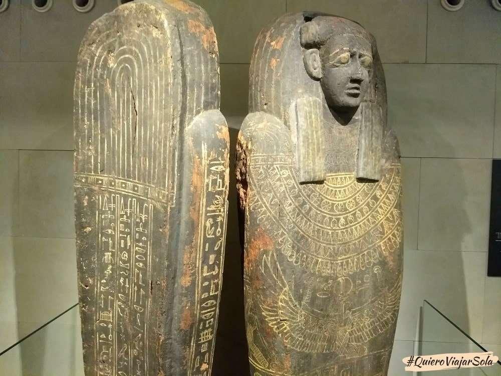 Que ver en el Eixample, Museo Egipcio