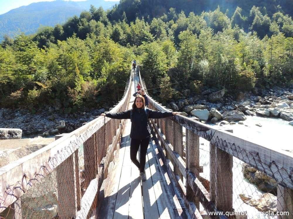 Qué ver en el Parque Nacional Queulat, puente colgante
