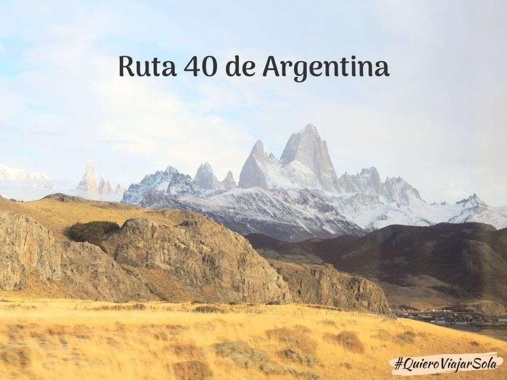 Ruta 40 de Argentina