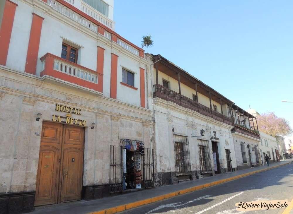 Viajar sola a Arequipa Perú, arquitectura