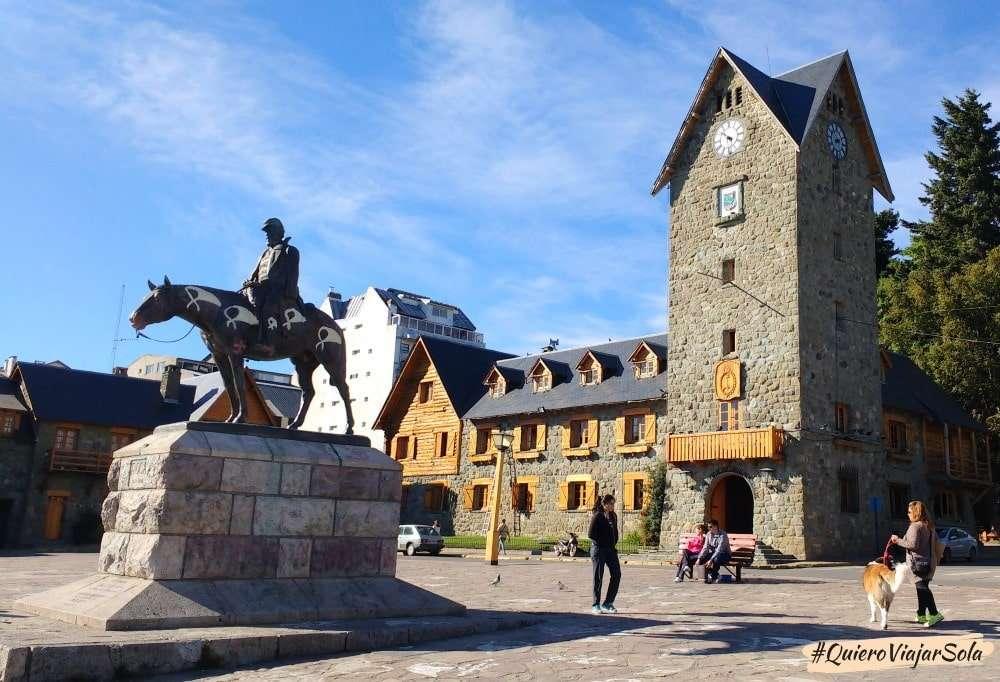 Viajar sola a Bariloche, centro cívico