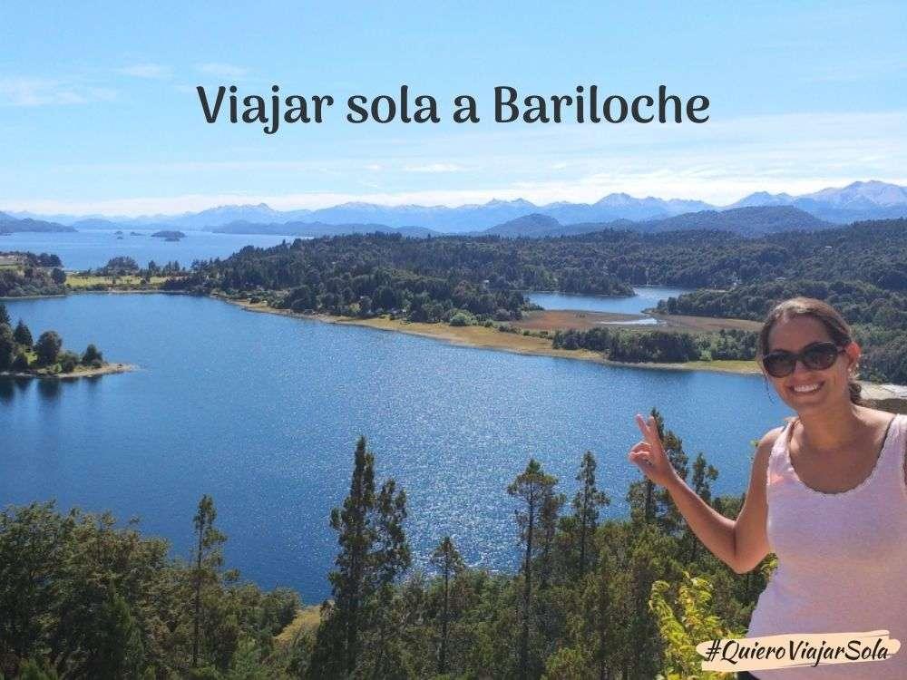 Viajar sola a Bariloche