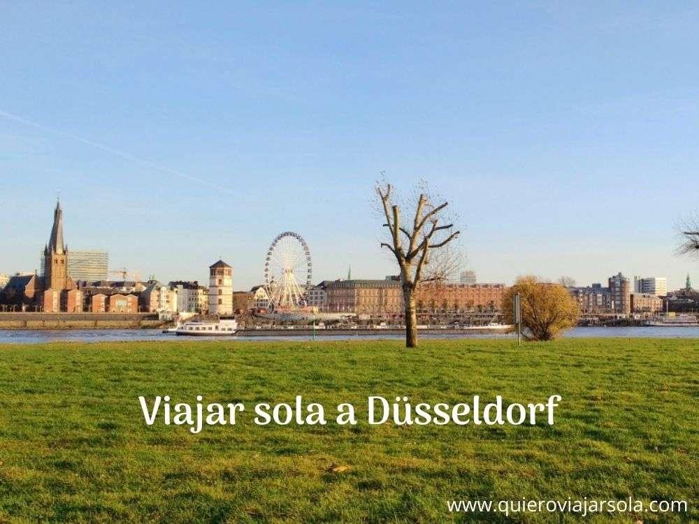 Viajar sola a Düsseldorf