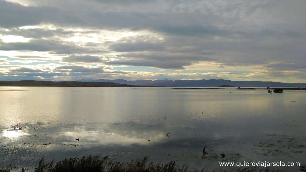 Viajar sola a El Calafate, Lago Argentino