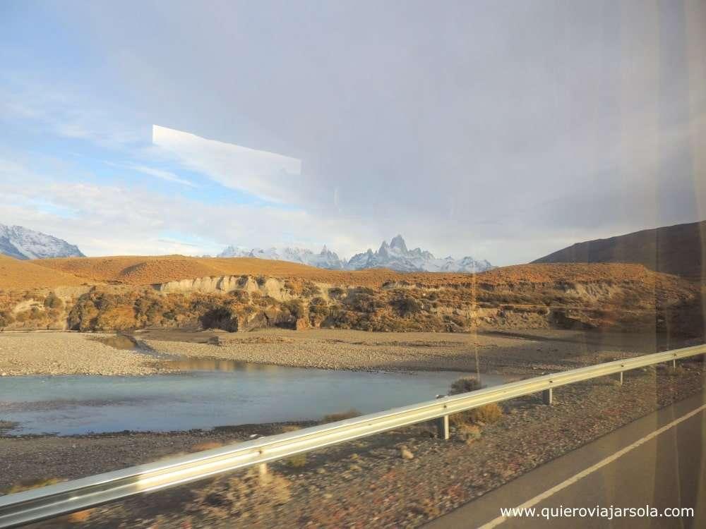 Viajar sola a El Chaltén, llegar por carretera