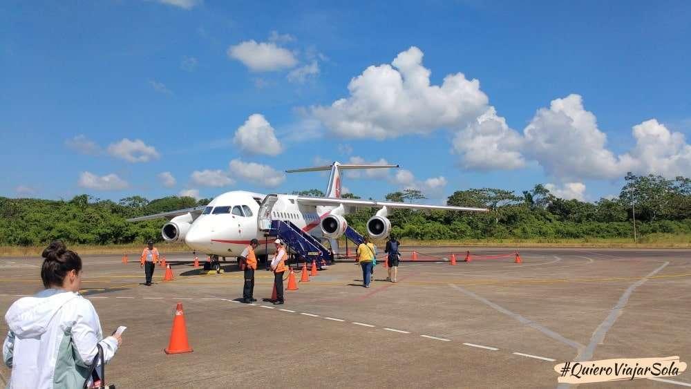 Viajar sola a Puerto Maldonado Perú, llegar en avión