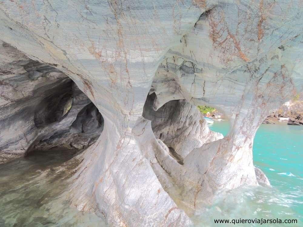 Viajar sola por la Carretera Austral, capillas de mármol