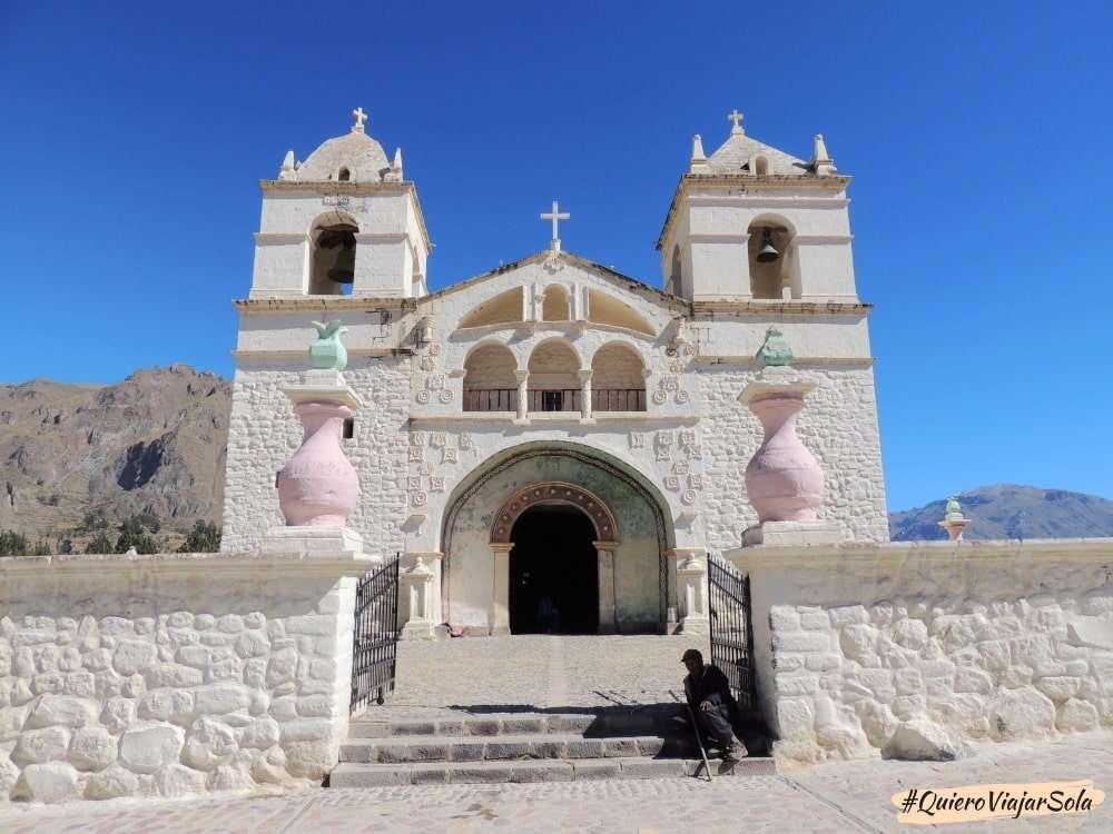 Visitar el Valle del Colca Arequipa, Maca
