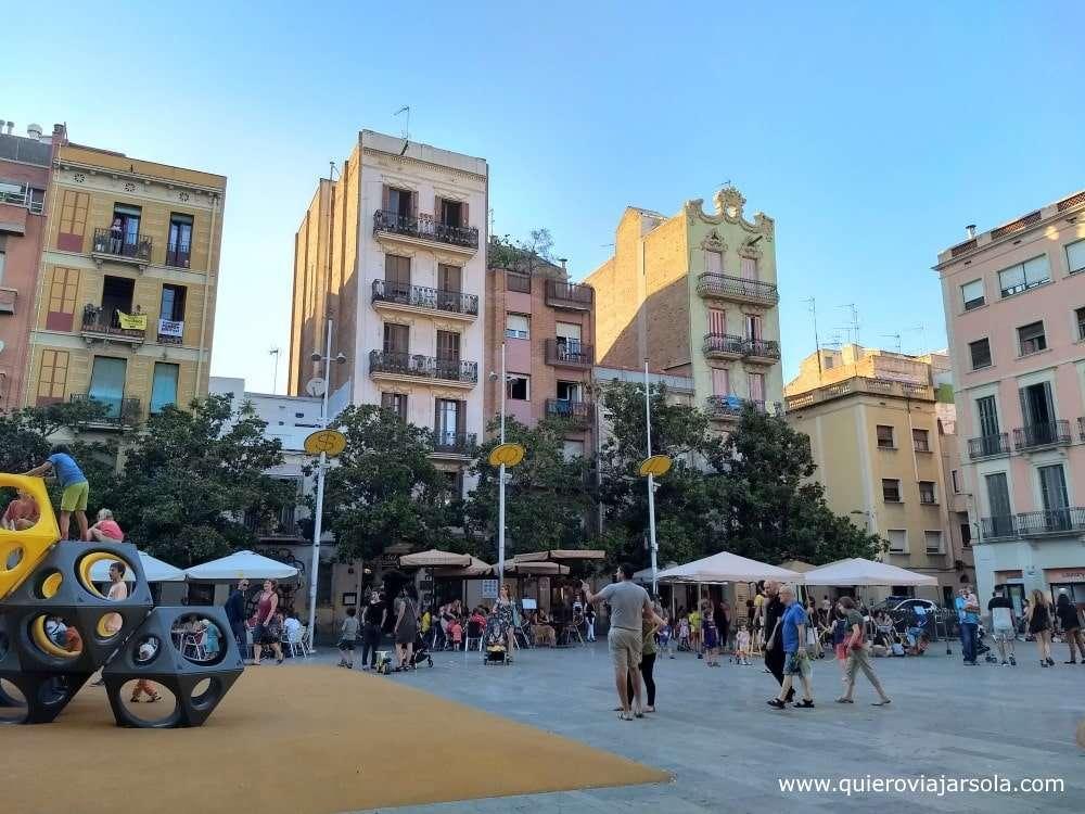 Qué hacer en el barrio de Gracia, plaza del Sol