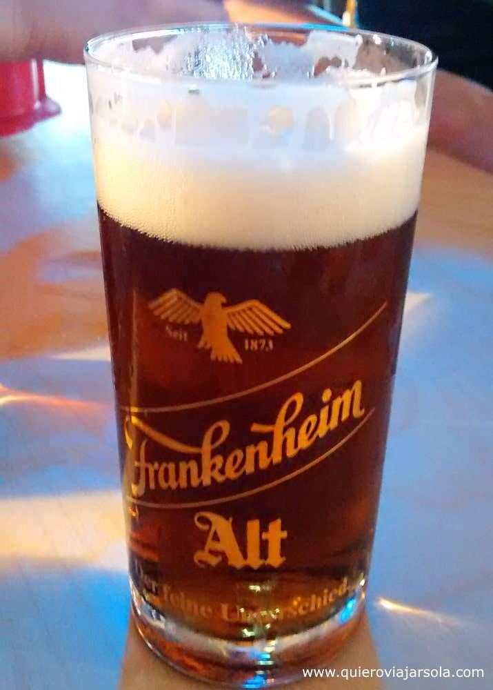 Que ver en Düsseldorf, cerveza Altbier