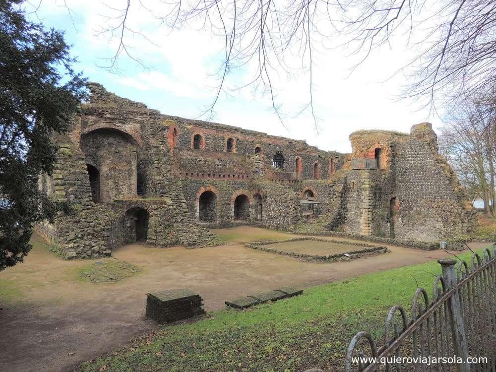 Que ver en Düsseldorf, ruinas de Kaiserswerth