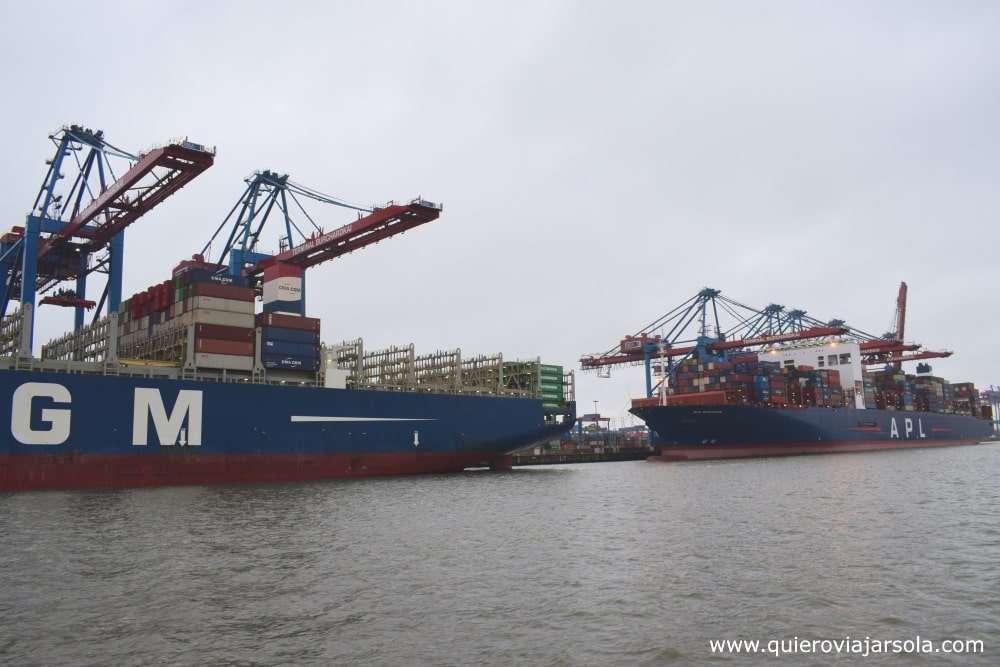 Qué ver en Hamburgo, tours en barco