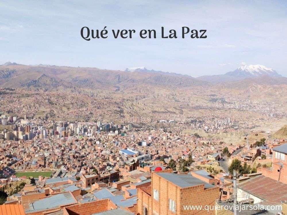 Que ver en La Paz