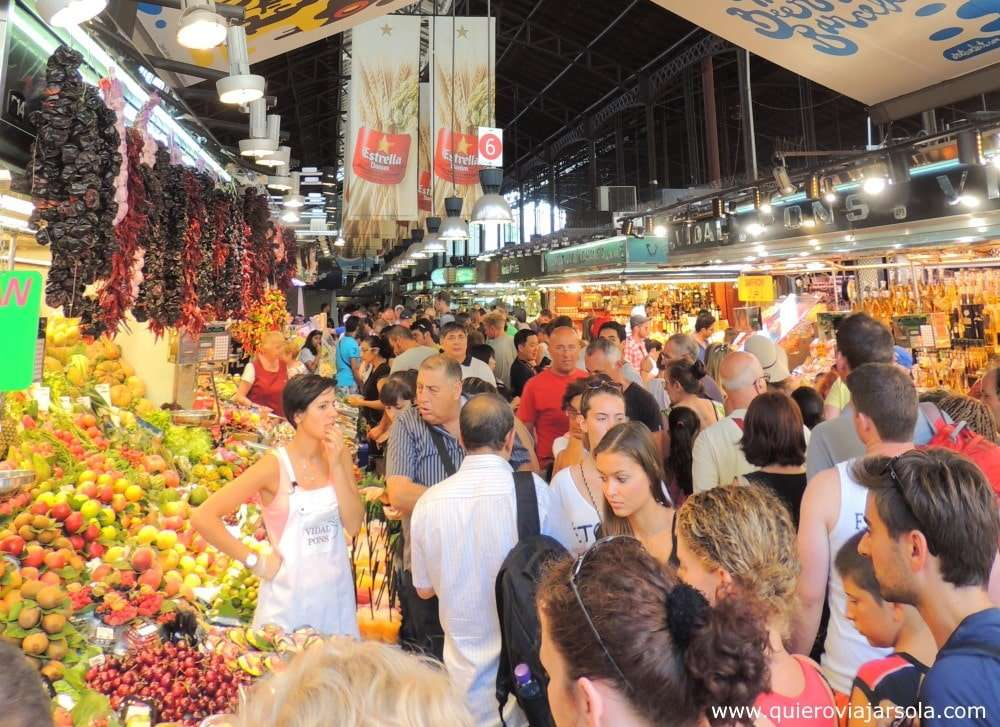Qué ver en La Rambla de Barcelona, mercado de la Boquería