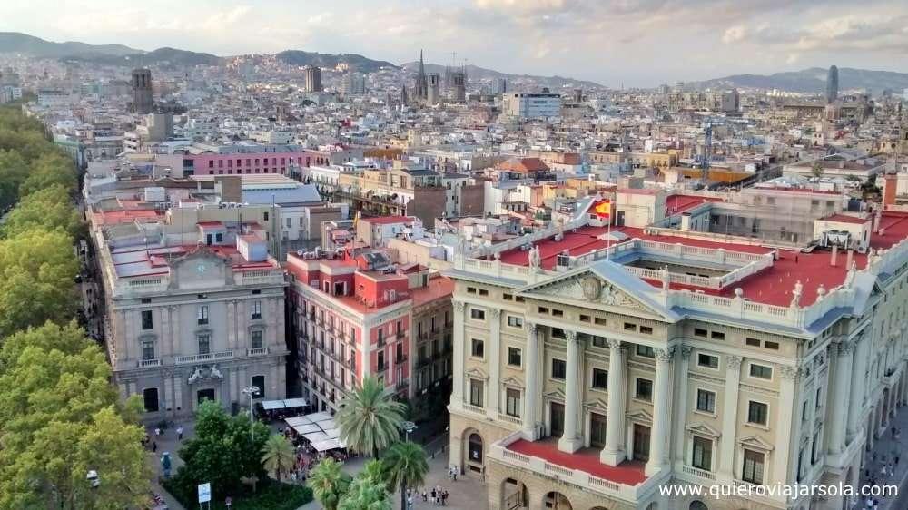 Qué ver en La Rambla de Barcelona, mirador de Colón