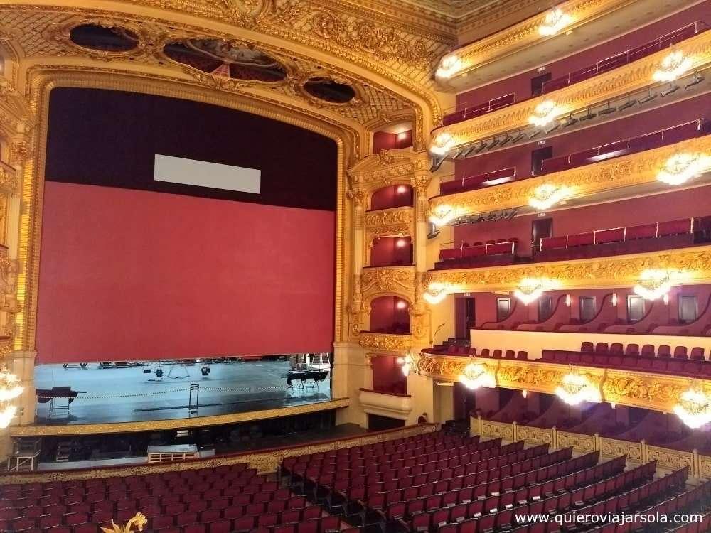 Qué ver en La Rambla de Barcelona, teatro del Liceo