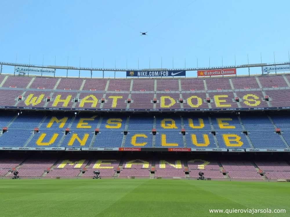 Que ver en Les Corts, Camp Nou