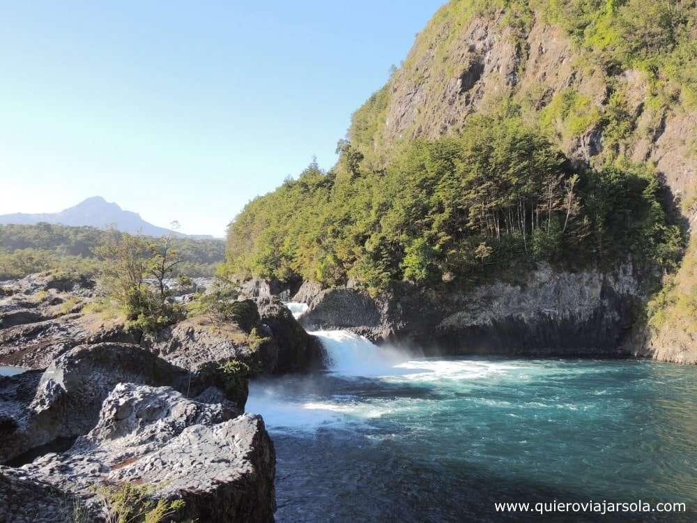 Qué ver en Puerto Varas, saltos del Petrohué