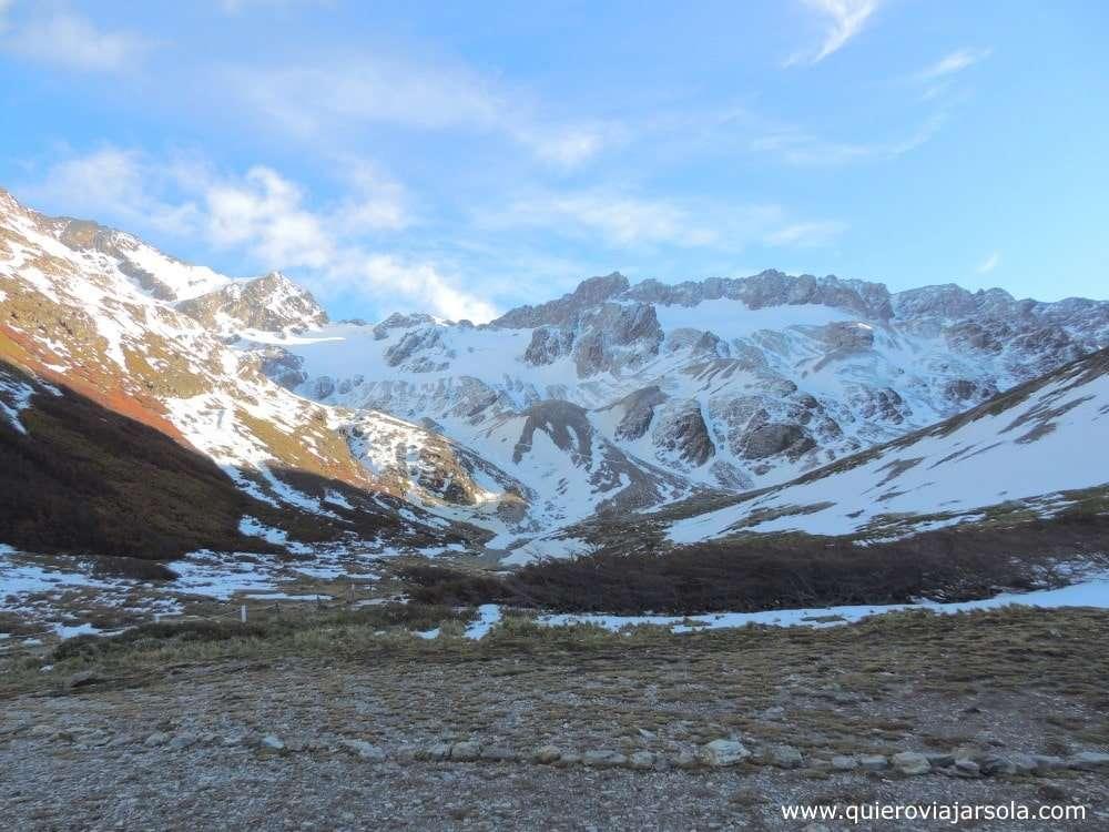 Que ver en Ushuaia, glaciar Martial