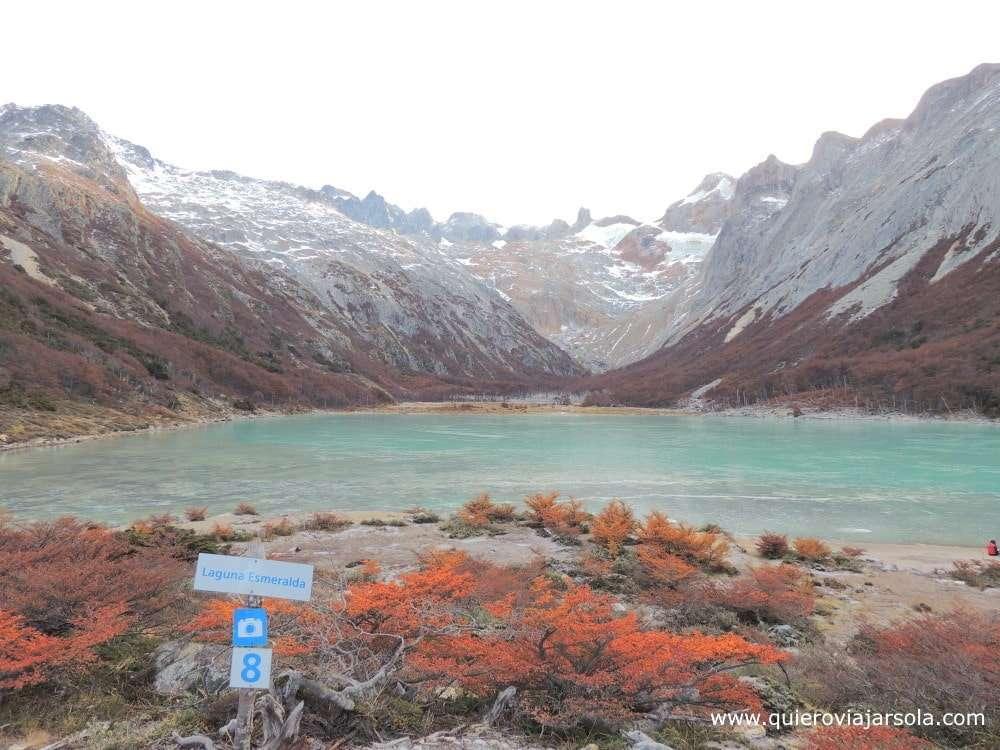 Que ver en Ushuaia, laguna Esmeralda