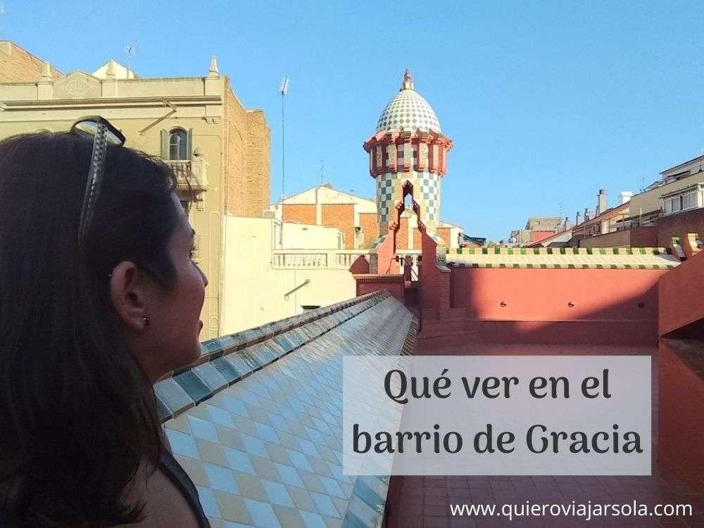 Qué ver en el barrio de Gracia de Barcelona