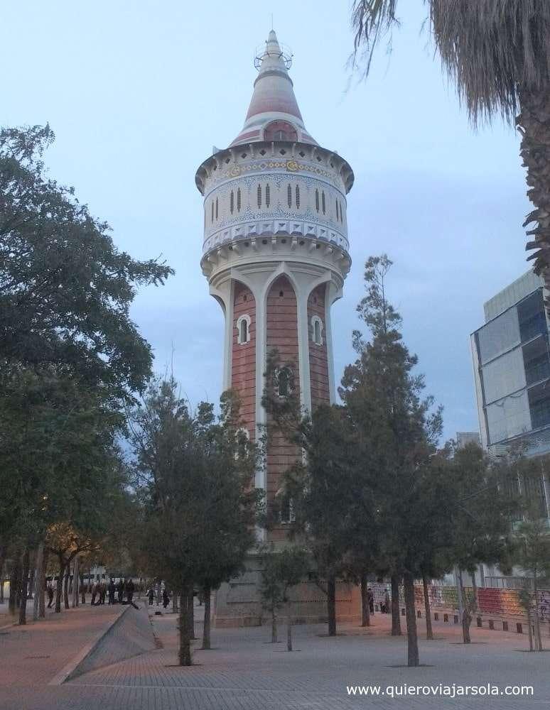 Que ver en la Barceloneta, parque Barceloneta