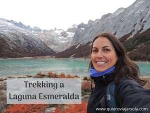 Trekking a Laguna Esmeralda