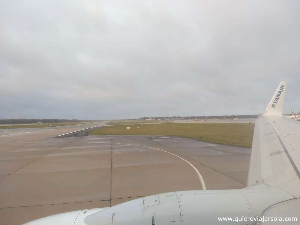 Viajar sola a Hamburgo, llegar en avión