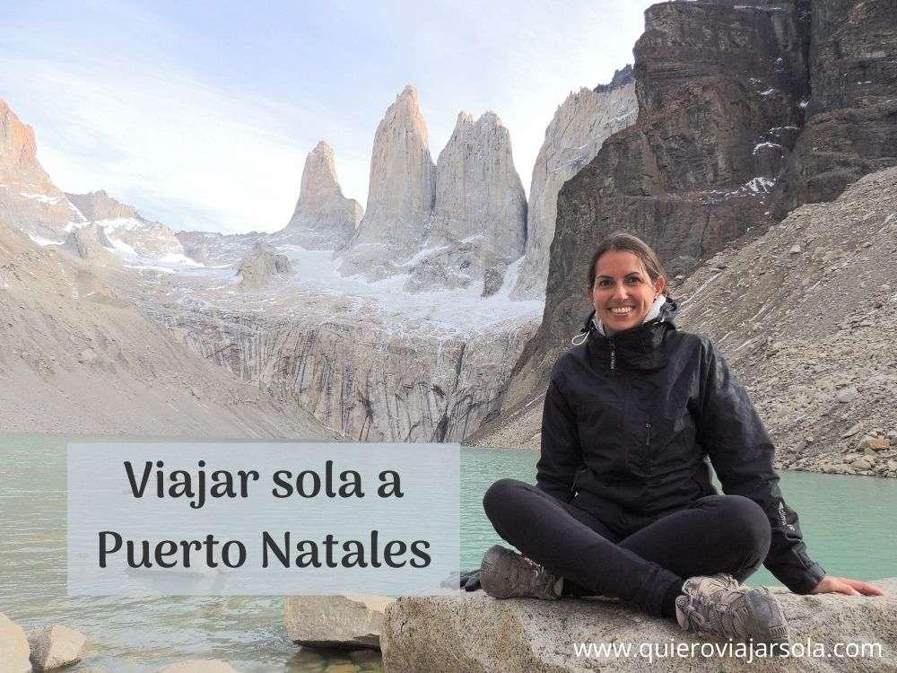 Viajar sola a Puerto Natales