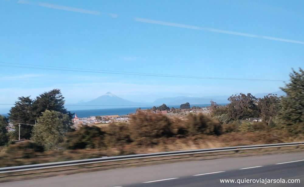 Viajar sola a Puerto Varas, llegar por carretera