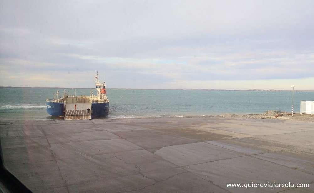 Viajar sola a Punta Arenas, Estrecho de Magallanes